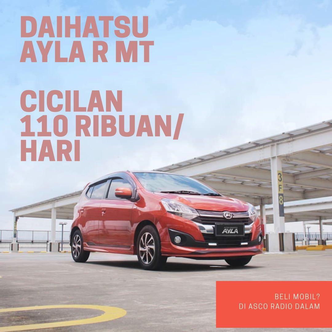 DP MURAH Daihatsu Ayla mulai 15 jutaan. Daihatsu Pamulanv