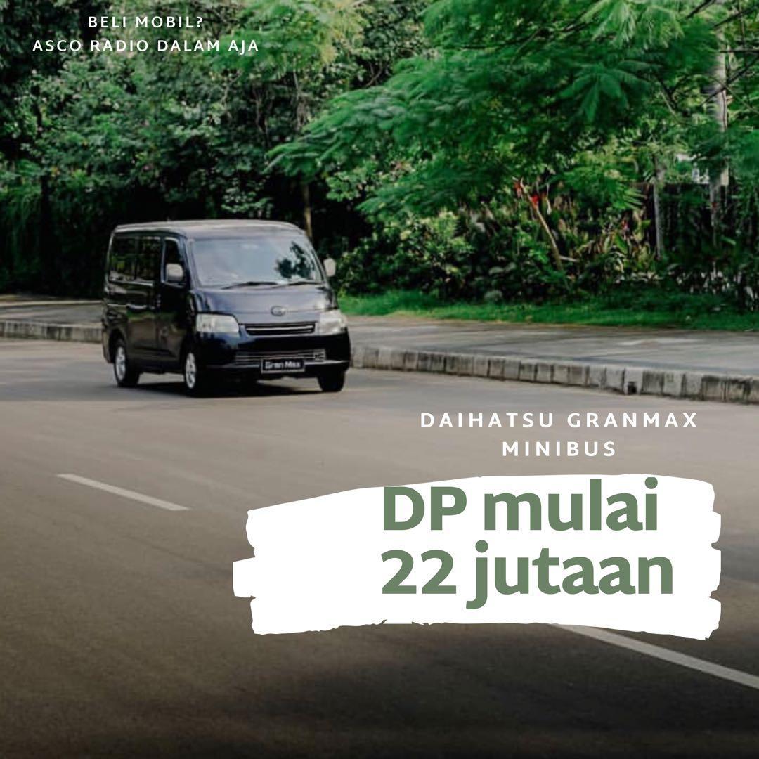 DP MURAH Daihatsu Granmax Minibus mulai 22 jutaan. Daihatsu Pamulang