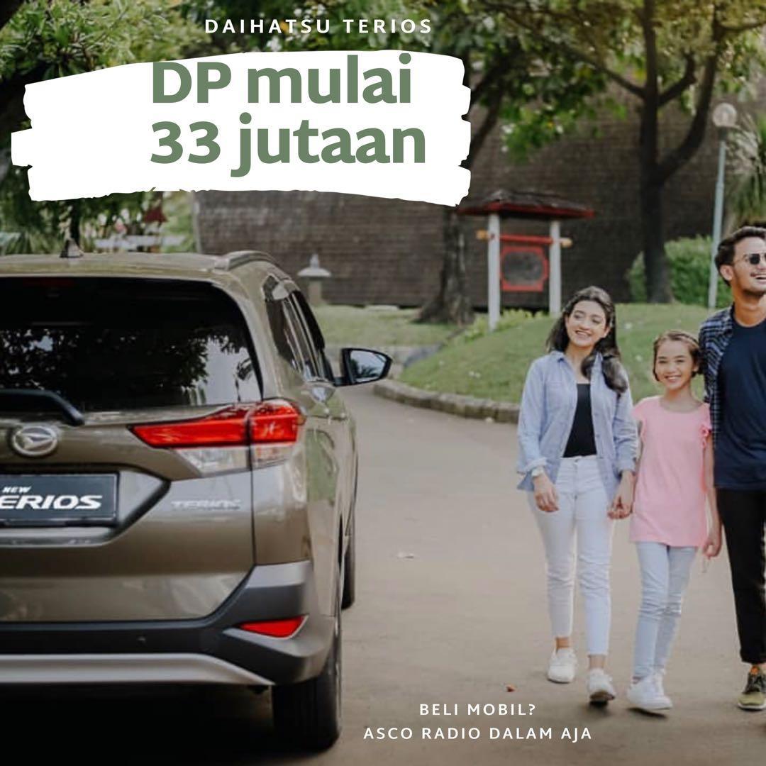 DP MURAH Daihatsu Terios mulai 33 jutaan. Daihatsu Pamulang