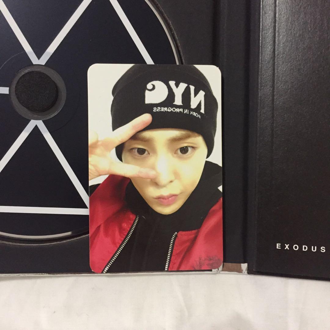 💿EXO Exodus (Chinese, Tao ver.) Kpop Album CD + Photobook + Xiumin photocard