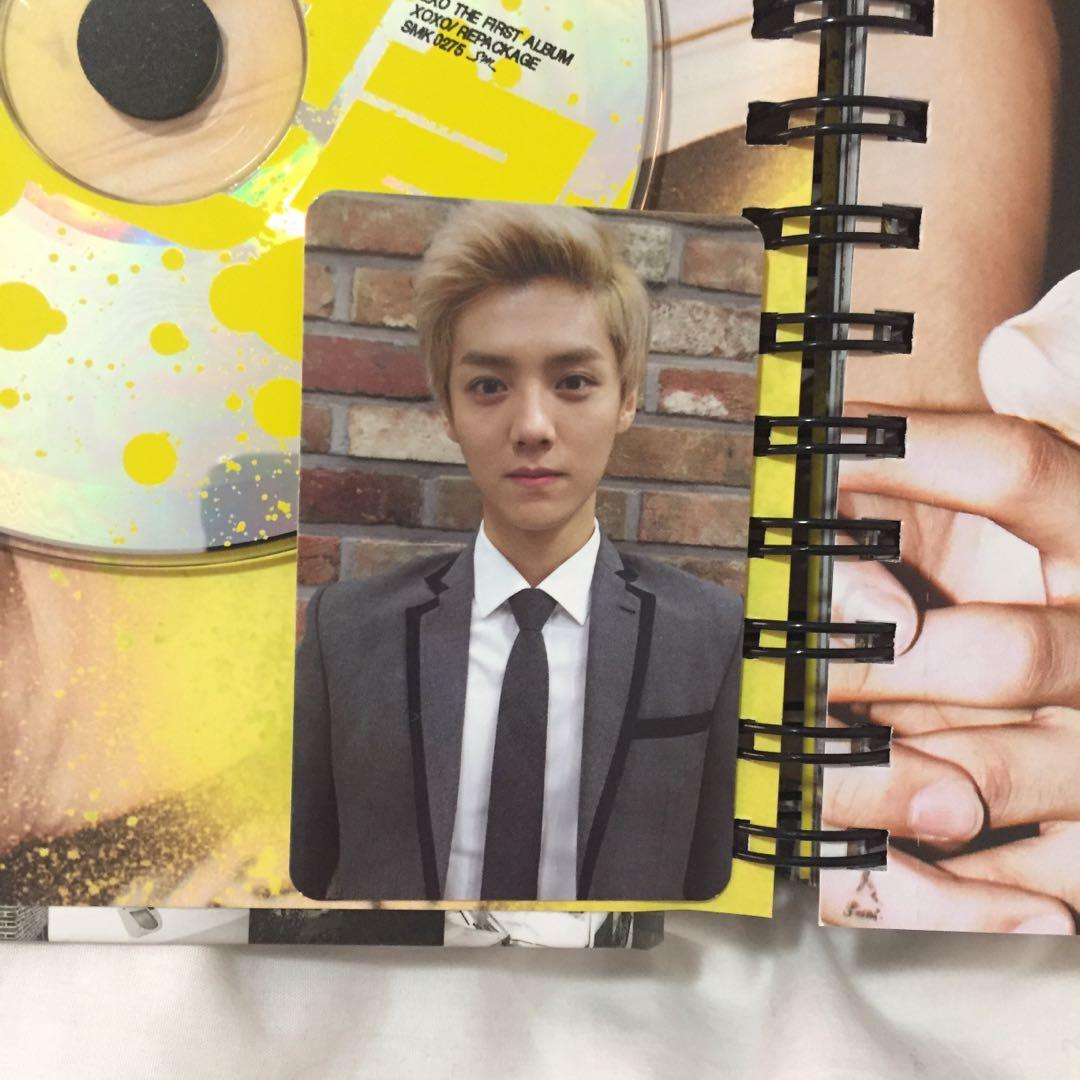 💿EXO Growl (Korean) Kpop Album CD + Photobook + Luhan photocard
