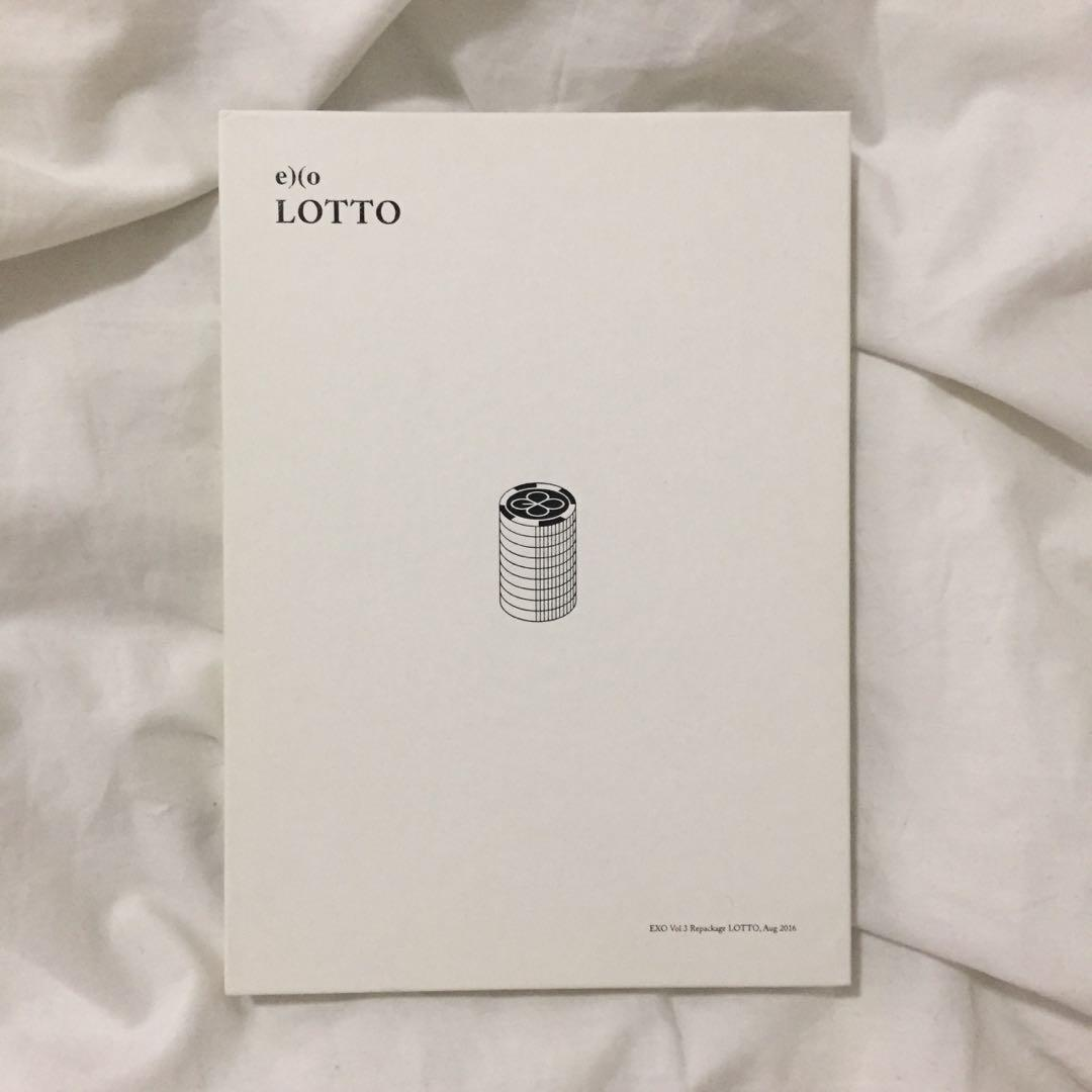 💿EXO Lotto (Korean) Kpop Album CD + Photobook + D.O photocard