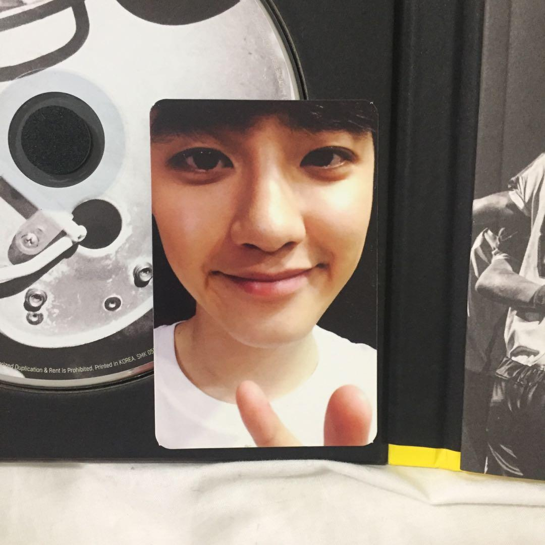💿EXO Love Me Right (Korean) Kpop Album CD + Photobook + D.O photocard