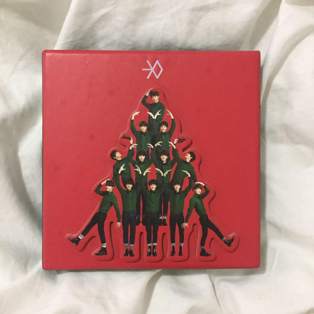 💿EXO Miracles In December (Chinese) Kpop Album CD + Photobook + Luhan snowglobe standee photocard
