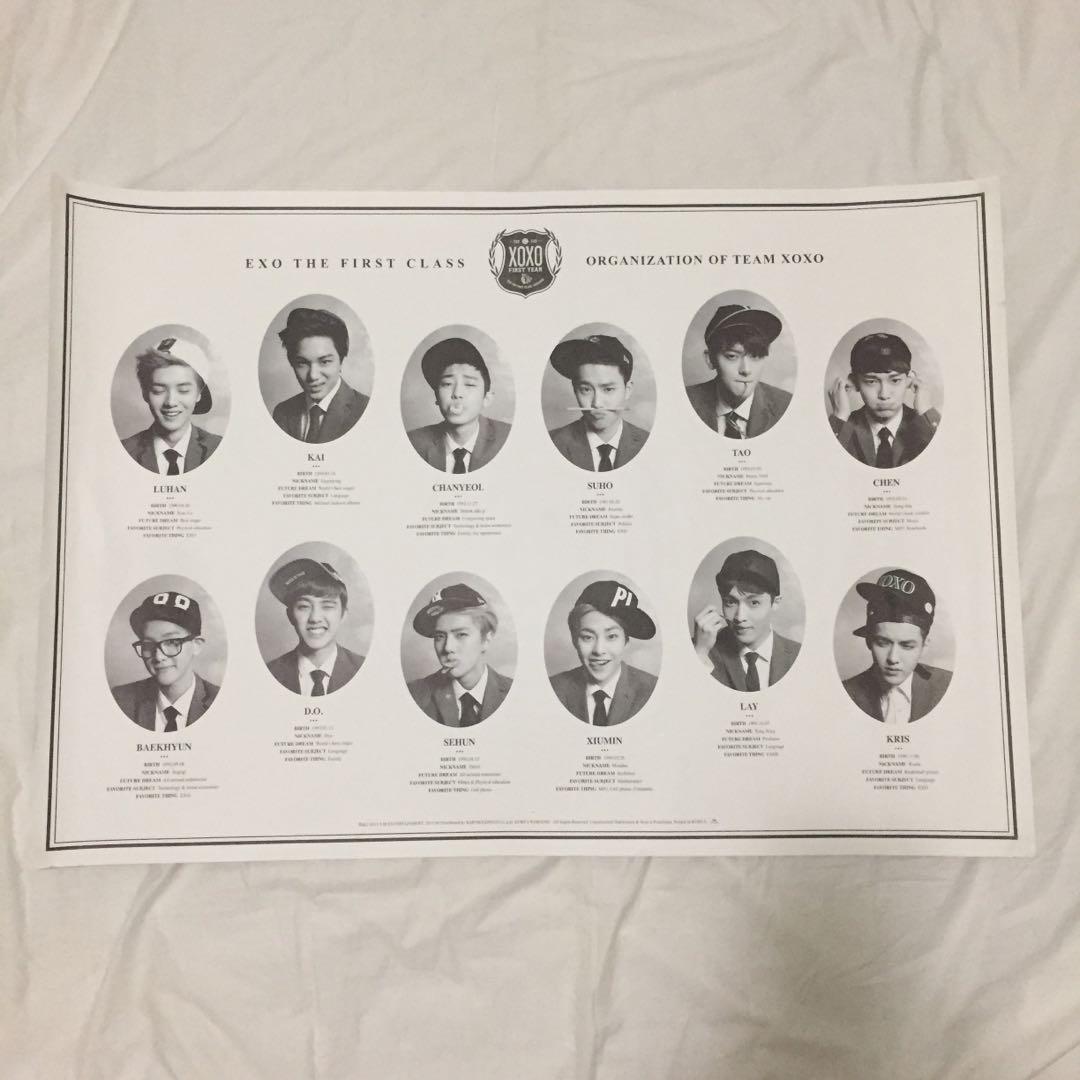 💿EXO XOXO (Korean) Kpop Album CD + Photobook + Luhan photocard