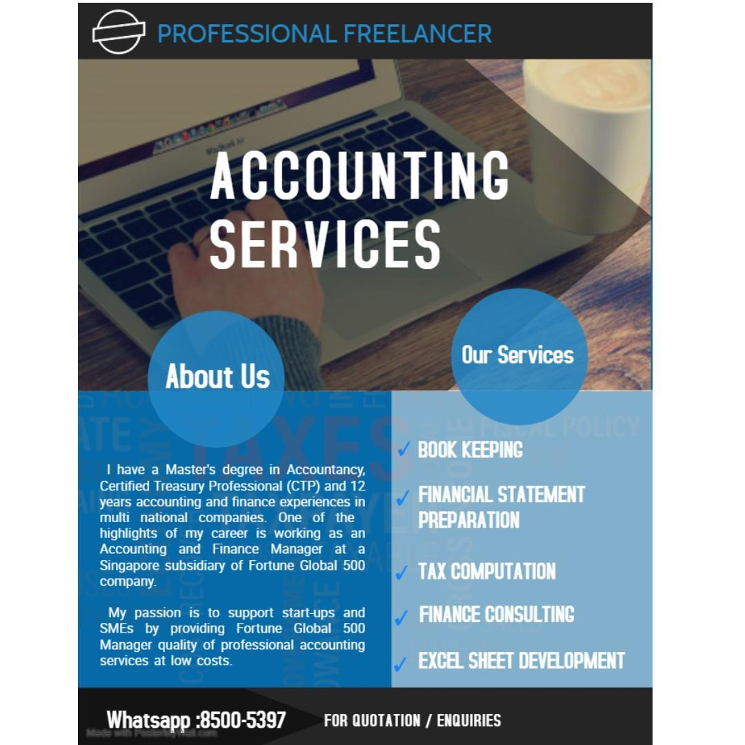 Freelance Bookkeeping / Accounting Services, Business