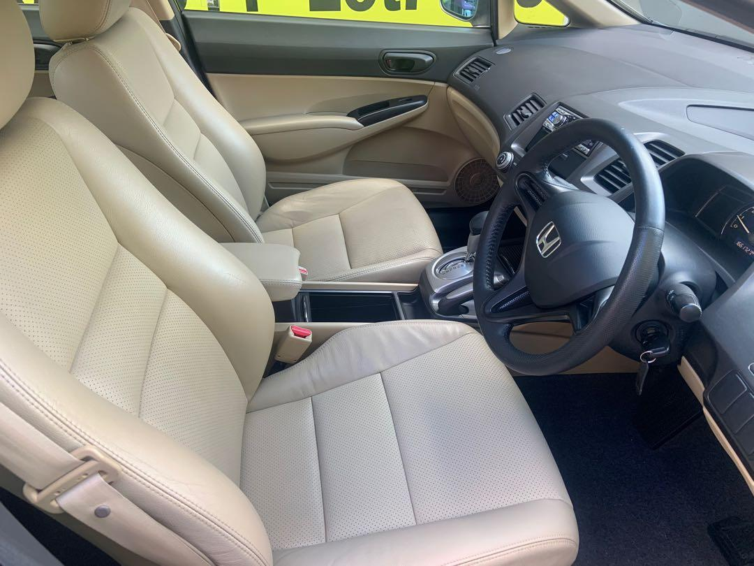 Honda Civic 1.8A for lease
