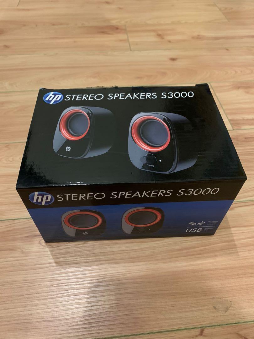 HP Speakers S3000