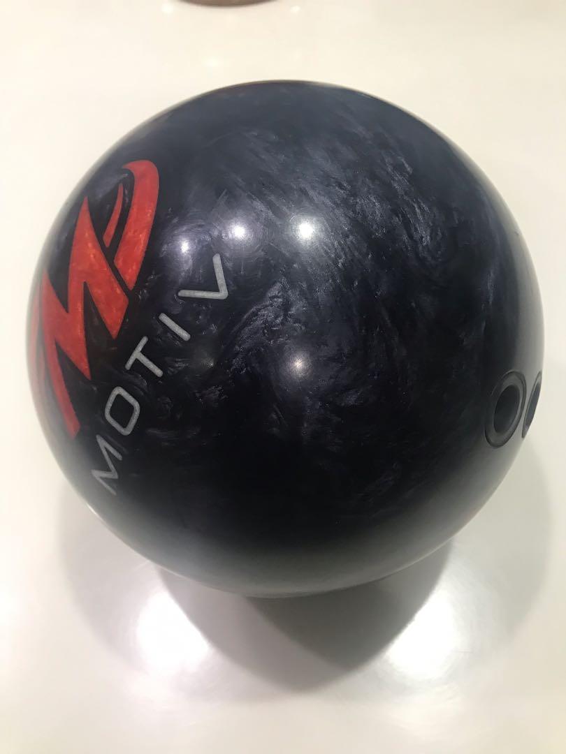 Hydra Motiv Bowling Ball 14lb 2 handed Drilling, Sports