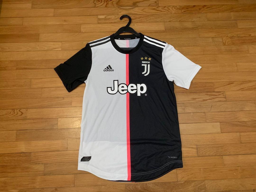 best cheap 5e3df 1fdc5 Authentic Juventus 2019/20 Home Shirt, Sports, Sports ...