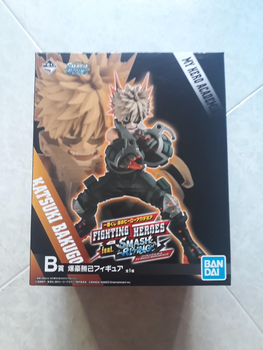 kuji -My Hero Academia - Fighting Heros -feat : PRIZE A ,PRIZE B ,PRIZE C -FIGURE