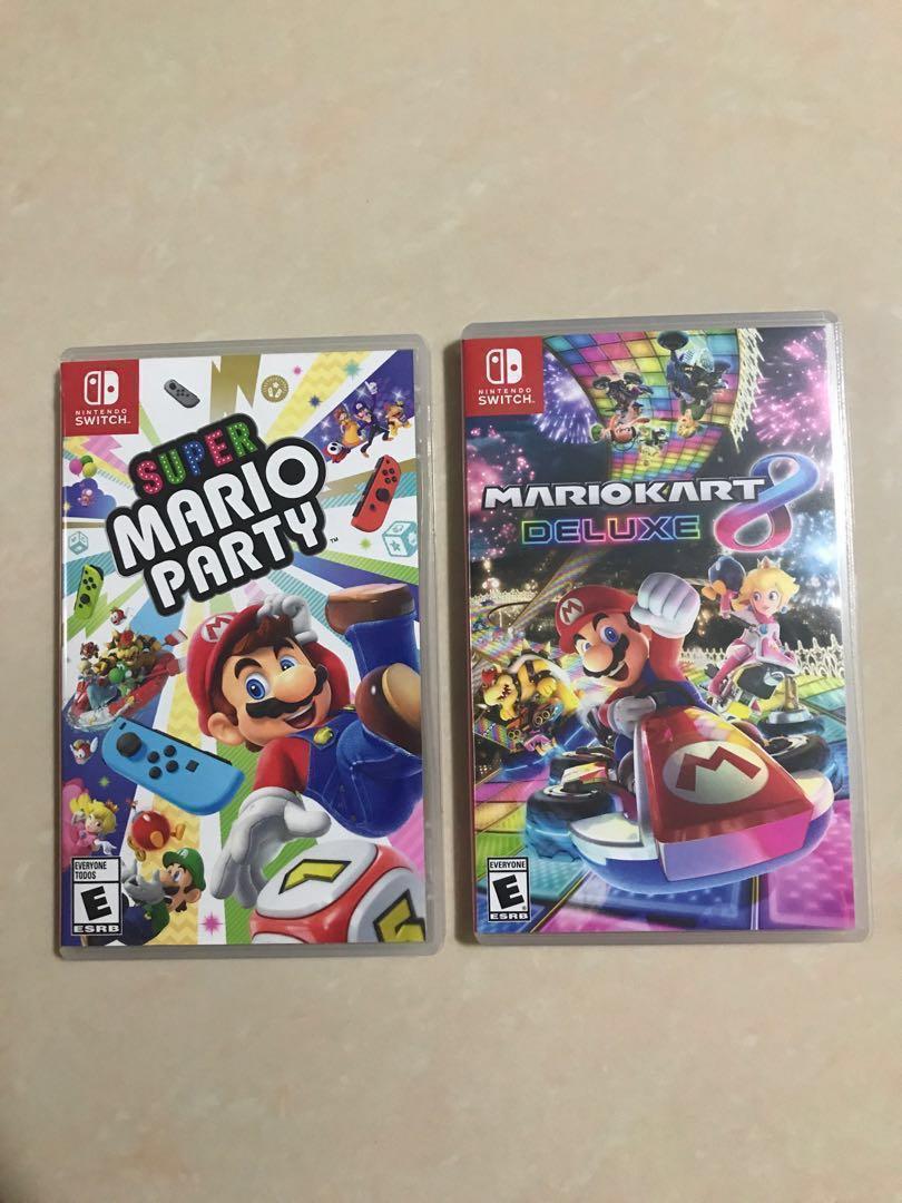 Mario/Overcooked 2 (Nintendo Switch Game Rentals)