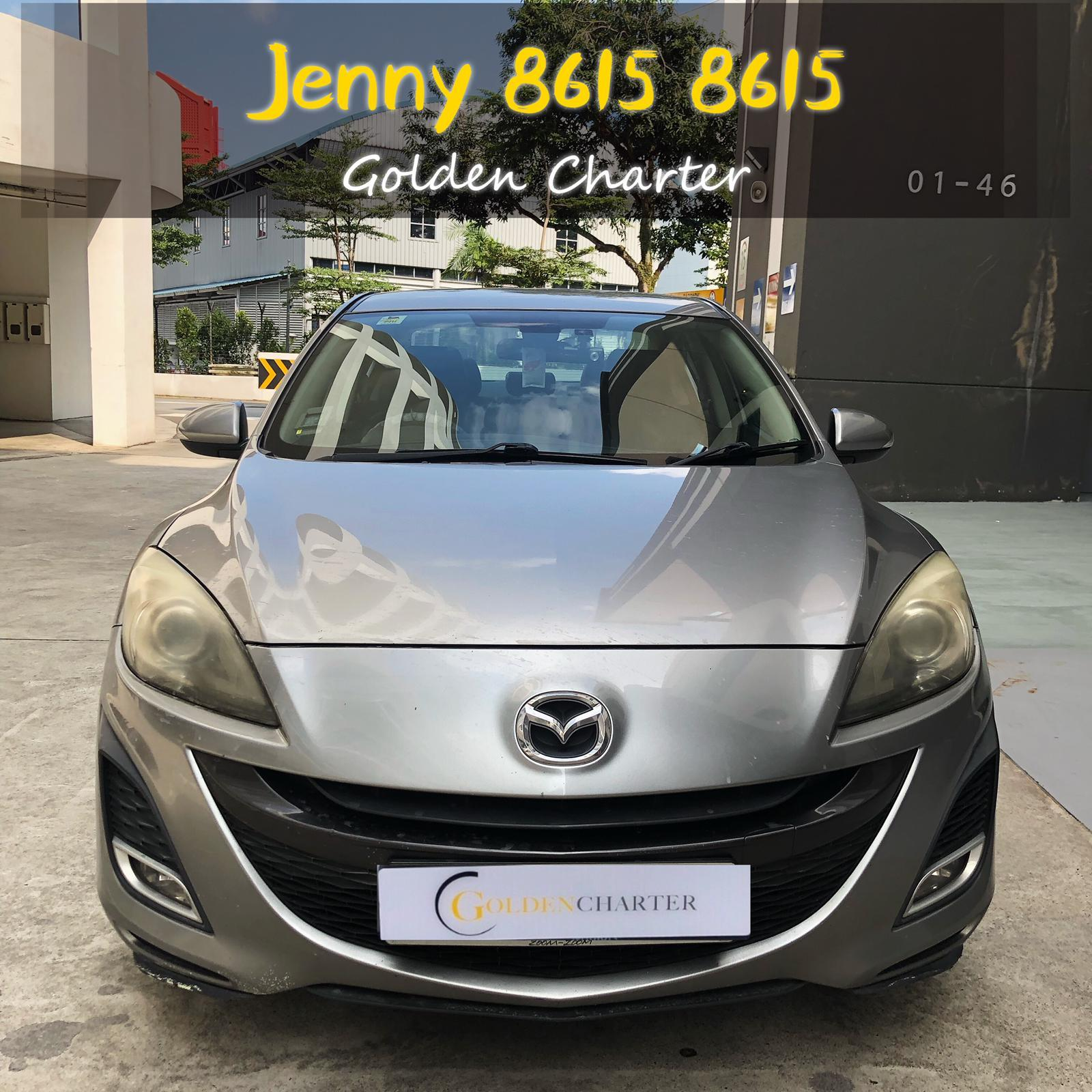Mazda 3 1.6a  Car Axio Premio Allion Camry Honda Jazz Fit Civic Cars Hyundai Avante Grab Rental Gojek Or Personal Use Low price and Cheap