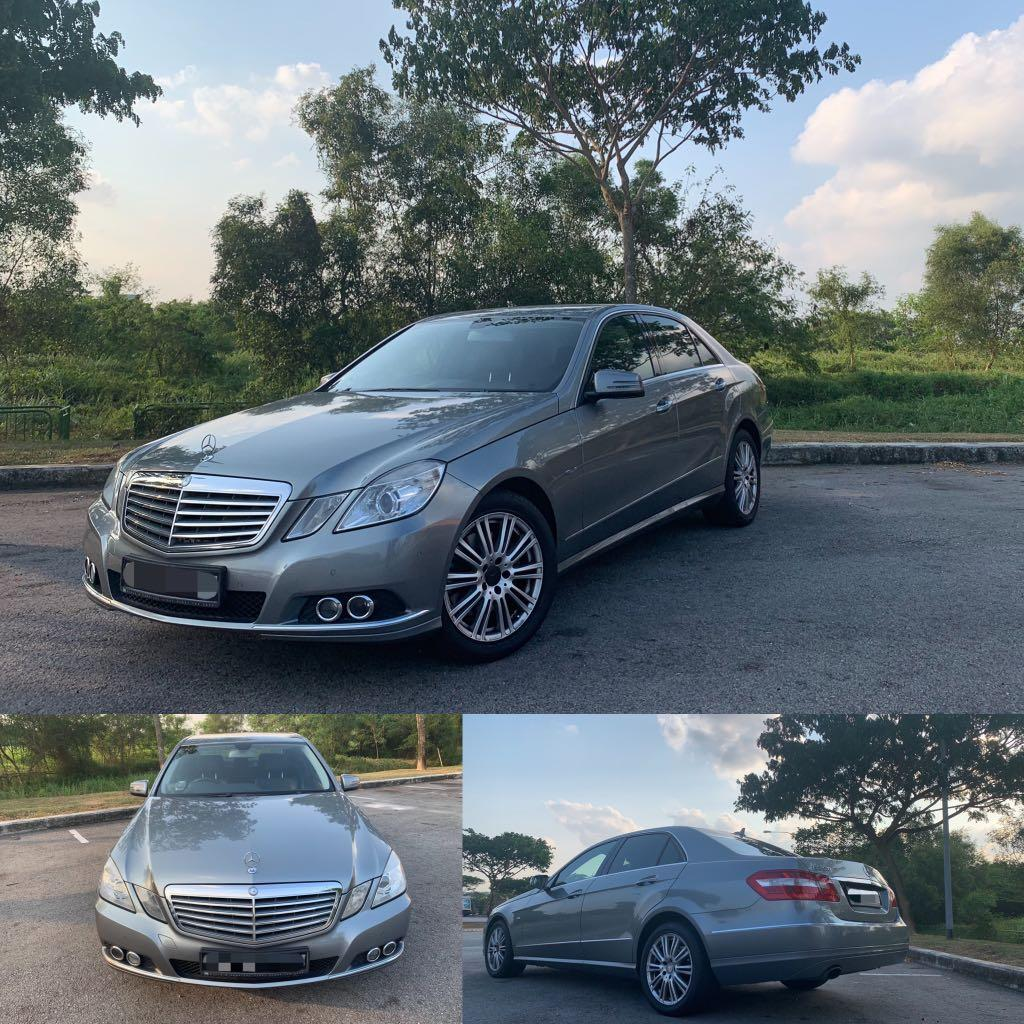 Mercedes Benz E250 for lease