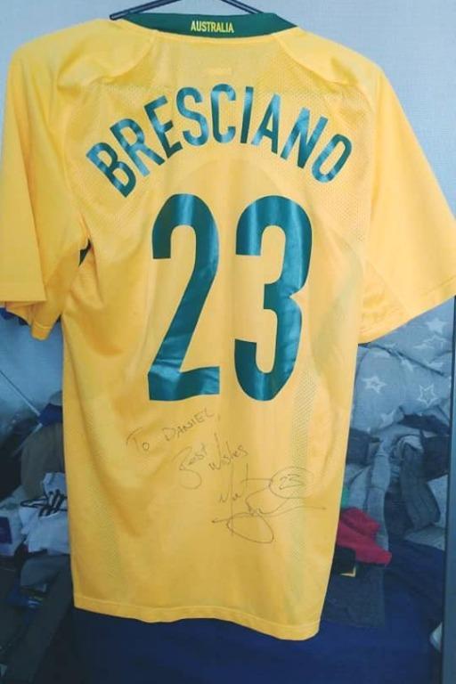 Nike *Player Isssue* Australia Jersey L size - 23 BRESCIANO