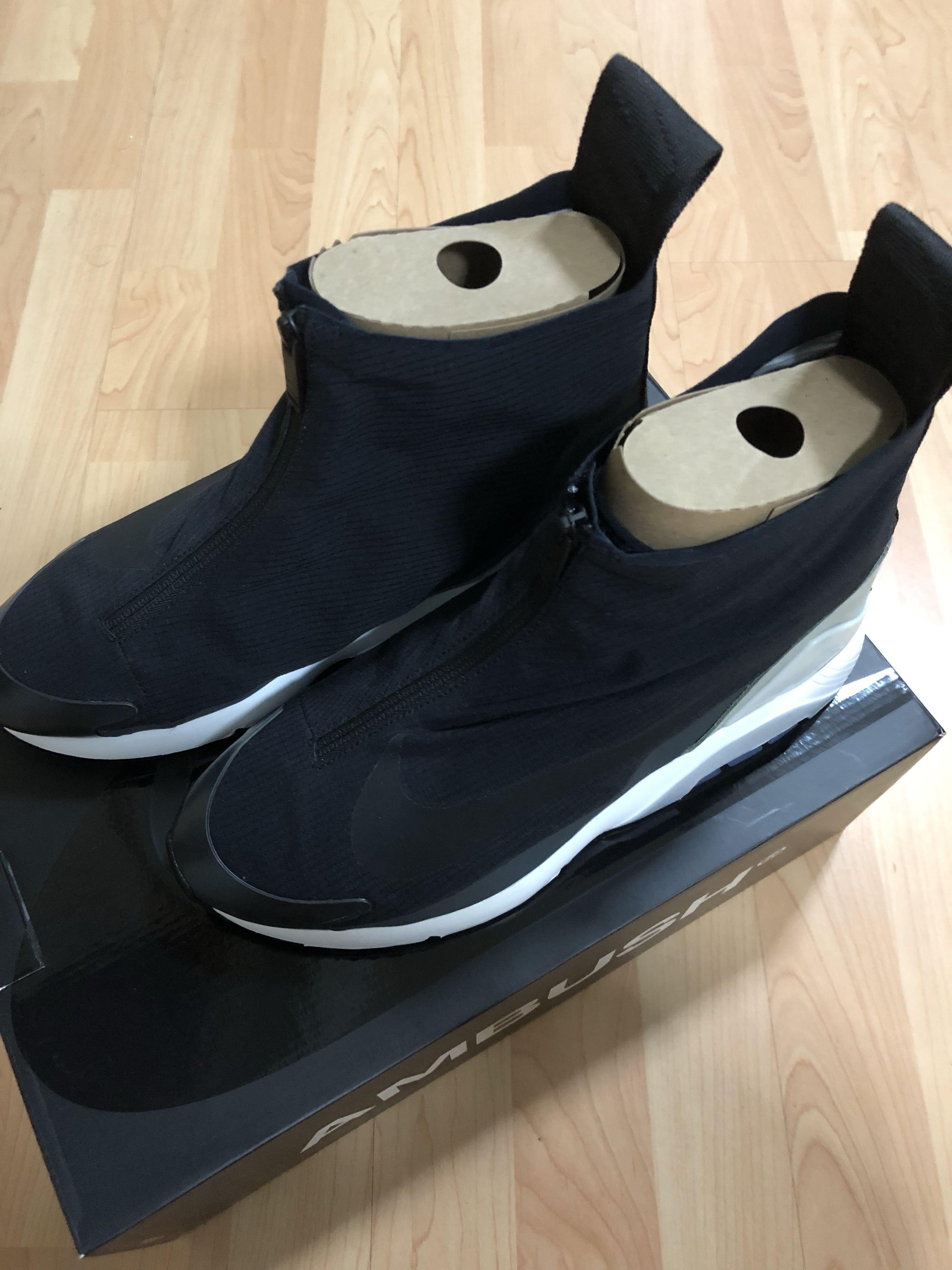 Details about Nike Air Max 180 X Ambush Black UK 9.5 BRAND NEW DEADSTOCK BNIB