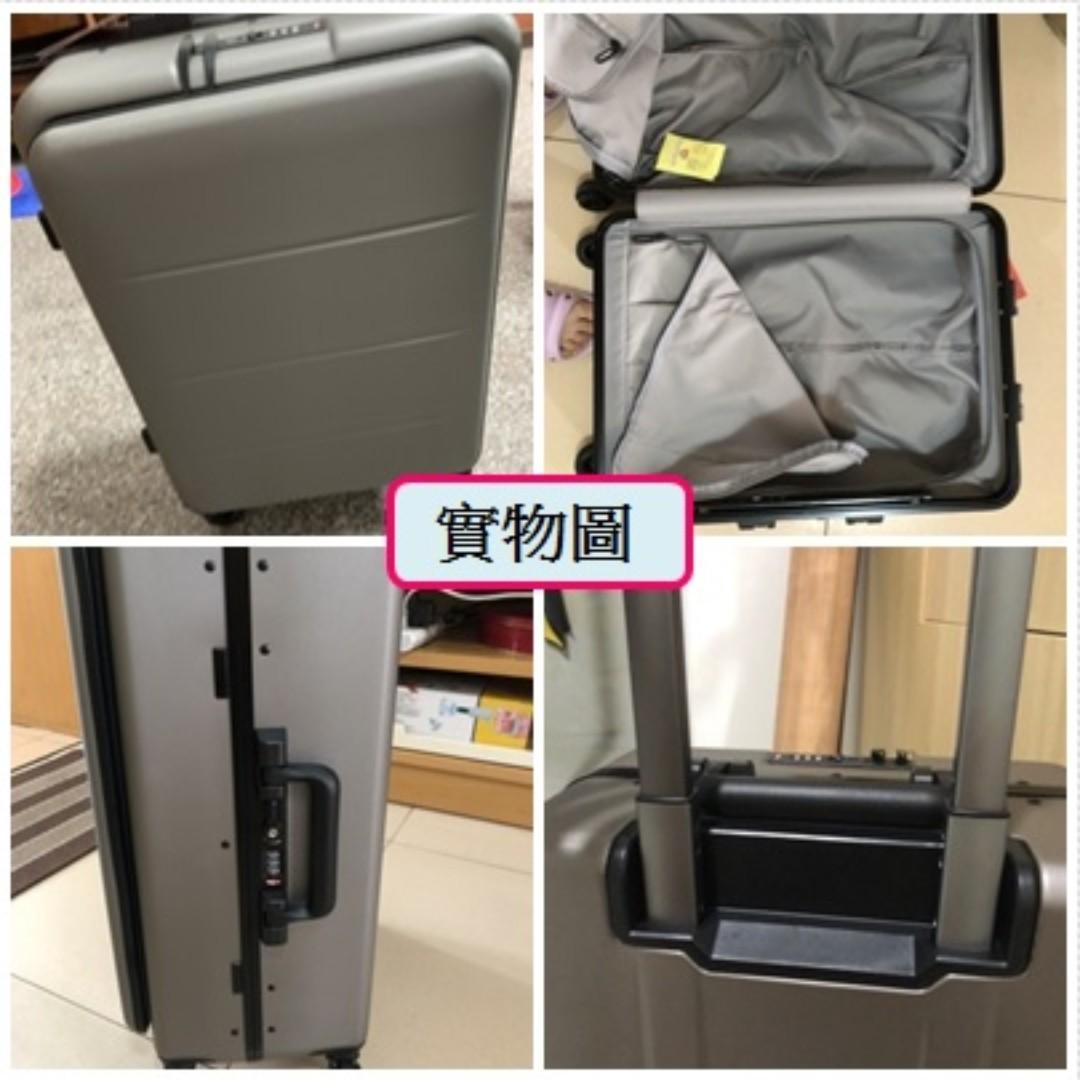 商務行李喼(包送貨$638)前置電腦包放Notebook拉桿行李箱PC旅行箱男女拉鍊鋁框硬殼箱密碼硬箱