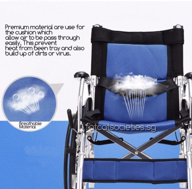 Premium lightweight pushchair wheelchair
