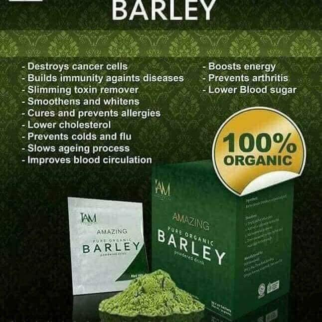 Pure Organic Barley Grass Powder Drink for Diabetes, High Cholesterol, Gastritis, Goiter, High Blood Pressure, destroy cancer cells. Liver, kidney and gallbladder support.