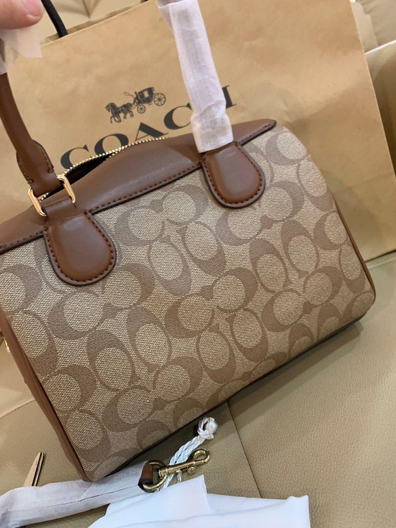 Ready Stock Authentic coach Keith collection Bennett bag limited