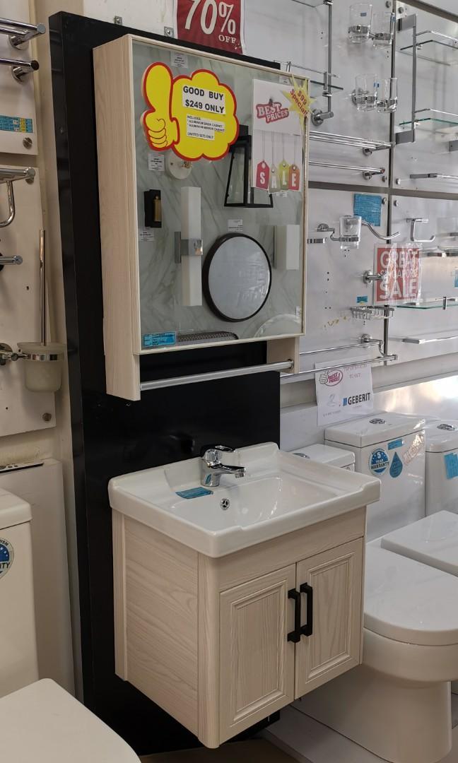 Stylish Mirror Cabinet at $99