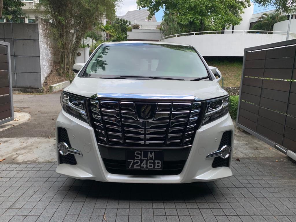 Toyota Alphard 2.5 S A-Package 7-Seater (A)