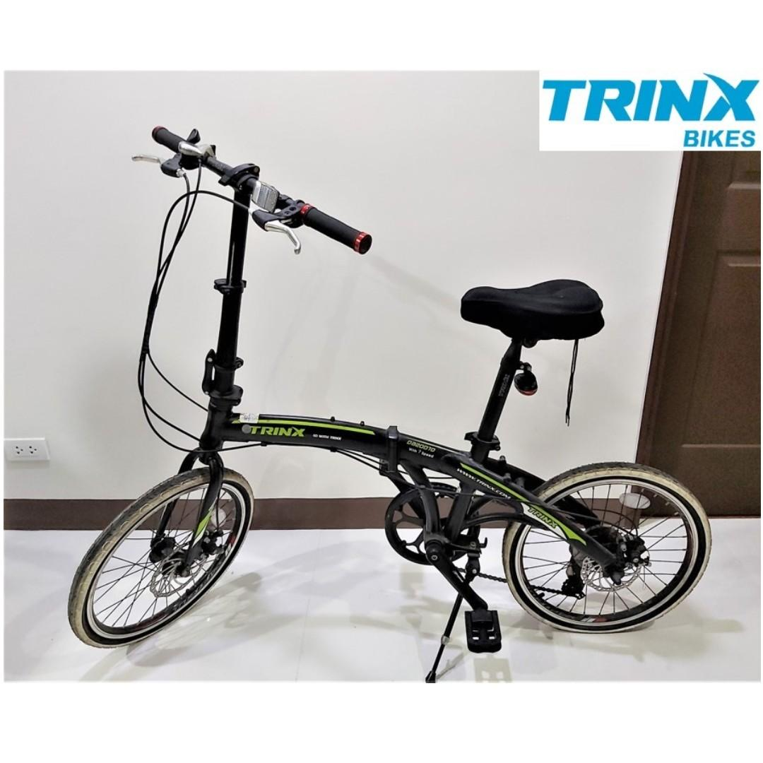 Trinx 20 Folding Light Weight Aluminum Foldable Bike Bicycle