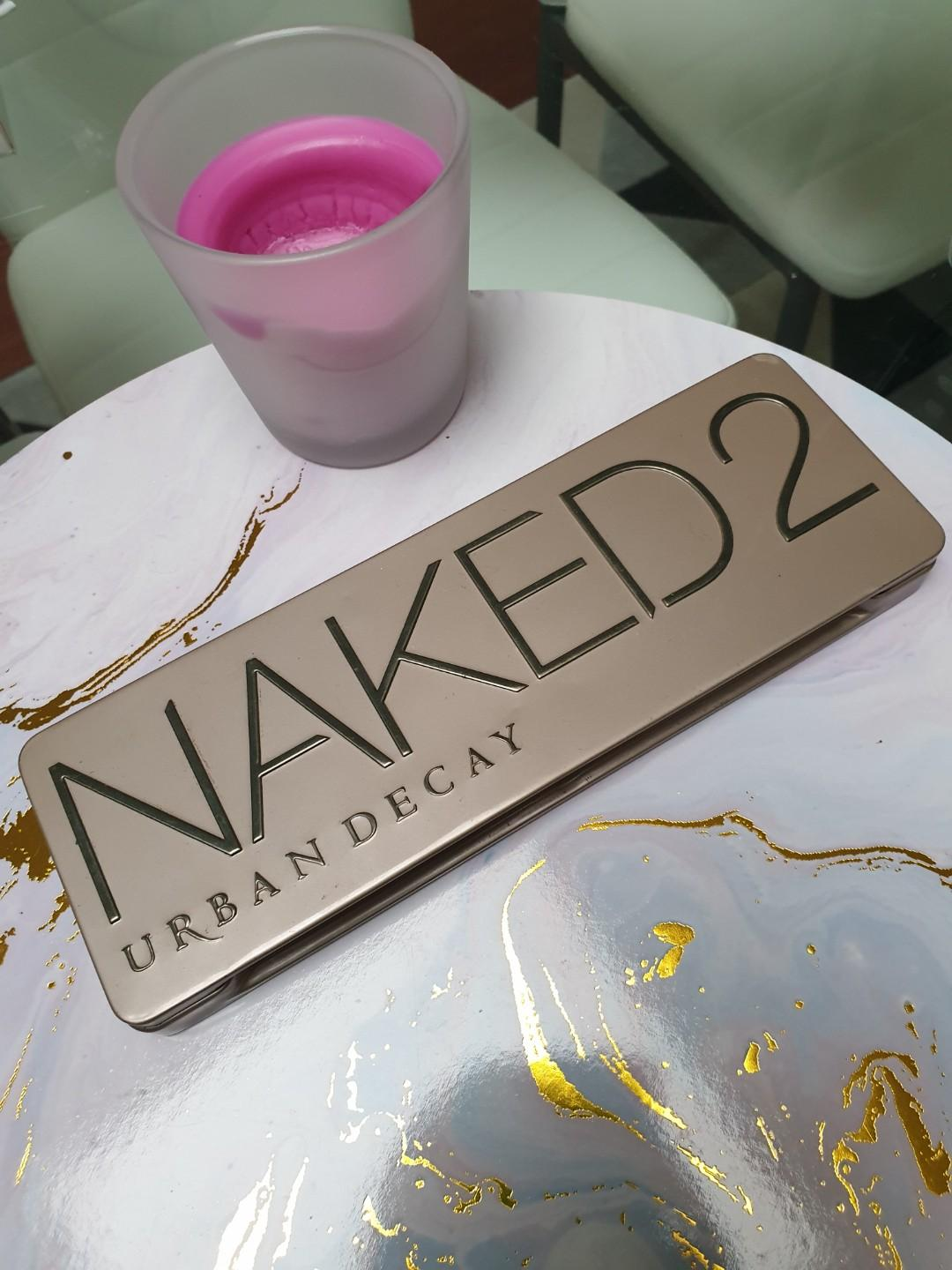 Urban Decay Naked 2 Eyeshadow Palette - Used from Sephora
