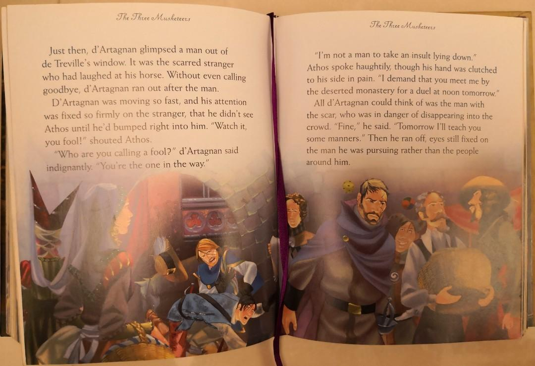 Usborne Illustrated Adventure Stories, 336 pages 兒童英文書 Children's English Book