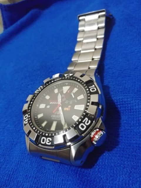 WTS jam tangan Orient M-Force (not seiko citizen omega tag rolex)