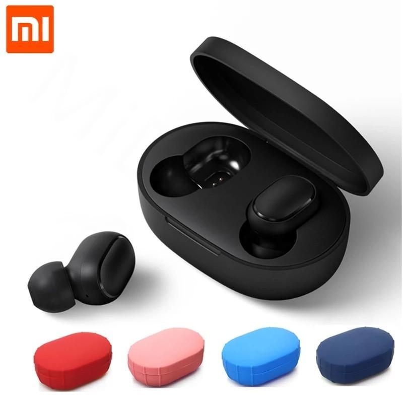 Xiaomi Mi Redmi AirDots TWS Bluetooth 5.0 Earphone Wireless Voice control Noise Reduction stereo Headphone Earbuds Handsfree mic