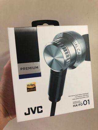 JVC HA-FD01 95% new 靚聲 水貨 VGP受賞