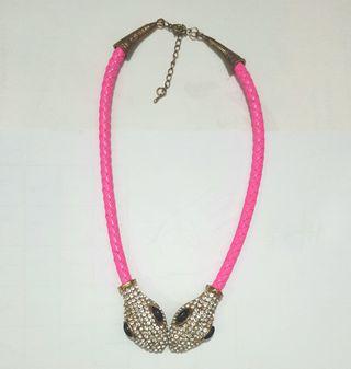 Kalung Snake Pink
