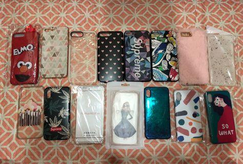 Ip7 plus & IpX casing for sale.