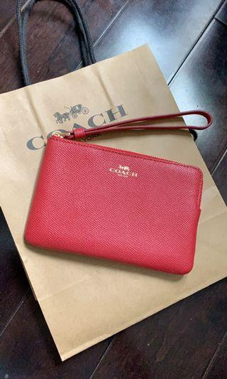 Brand new coach pouch/wallet