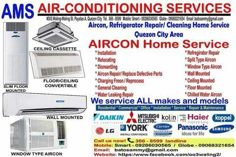 Aircon Services in Philippines, Air Conditioner Repair