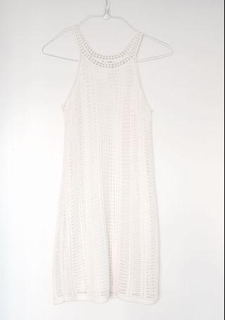 Club Monaco Halter Dress