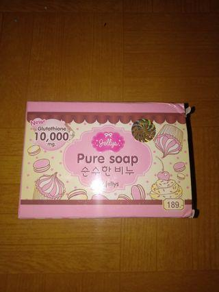 Pure Soap By Jellys share in bar