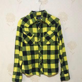 Yellow Plaid Shirt (Kemeja Flanel Kuning)