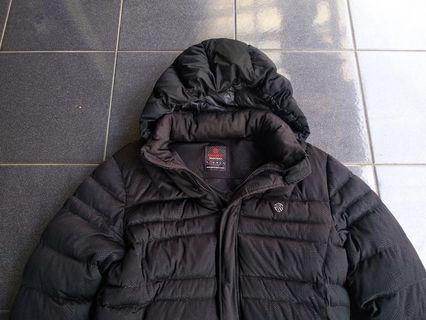 Jaket winter kantukan bulu angsa bulang not uniqlo