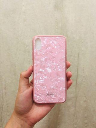 Case loly poly iphone x pink
