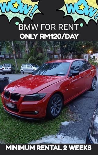 BMW E90 320 2009 RM120/DAY