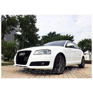 ❗️ ❗️ ❗️ 2010年Audi-A3 2.0t 帥氣外觀 顯現您的尊貴 晉升進口車家族趁現在 ❗️ ❗️ ❗️專辦全額貸款 ✨超額貸款萬 ✨免頭款 ✨免保人 ✨信用空白 ✨信用瑕疵可辦 ✨讓你輕鬆有車找錢沒煩腦 ✨