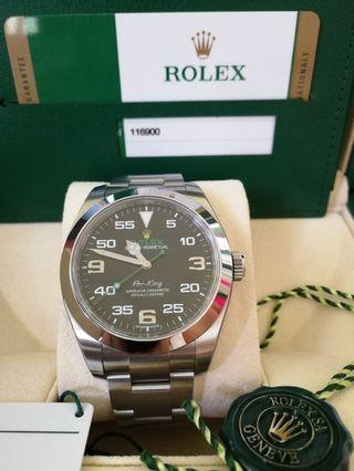100% Authentic Pre-owned Rolex Air-King 40mm Automatic New Unworn