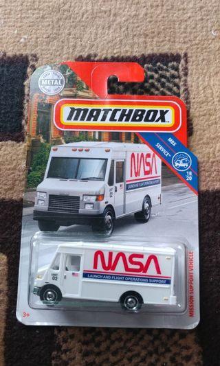 Matchbox NASA MISSION SUPPORT VEHICLE
