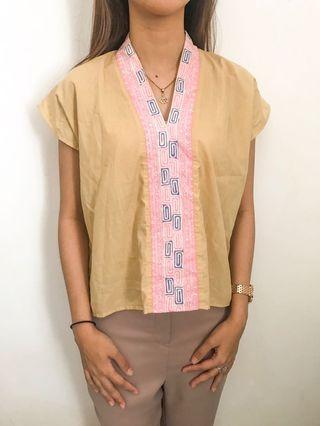 Batik light brown