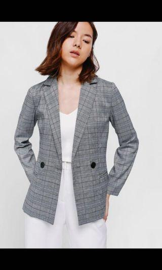 Love Bonito Prischa Tweed Blazer