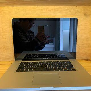 MacBook Pro 15inch Late 2011 MD318 Ori Mantap