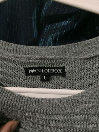 Sweater grey merk COLORBOX