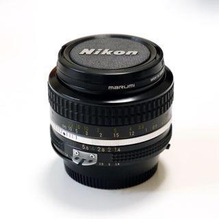 NIKON NIKKOR AI 50mm F1.4 日本製大光圈 標準 定焦 人像 老鏡 (附贈 Marumi 保護鏡)